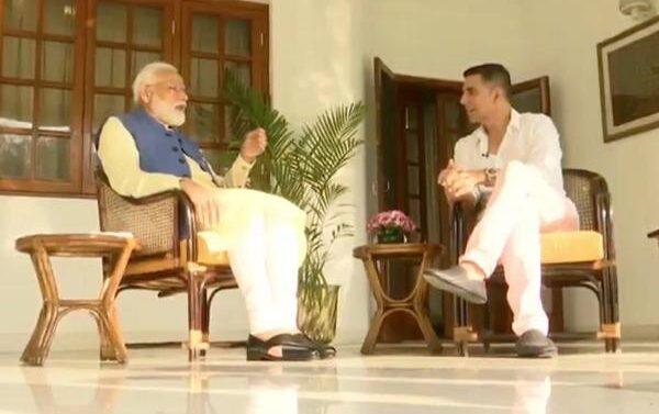 अक्षय कुमार ने लिया पीएम मोदी का इंटरव्यू देखिये पूरा विडीओ