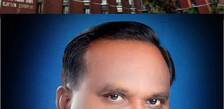 कोंग्रेस के उम्मीदवार बाबुभाई कटारा को चुनाव आयोग की नोटिस