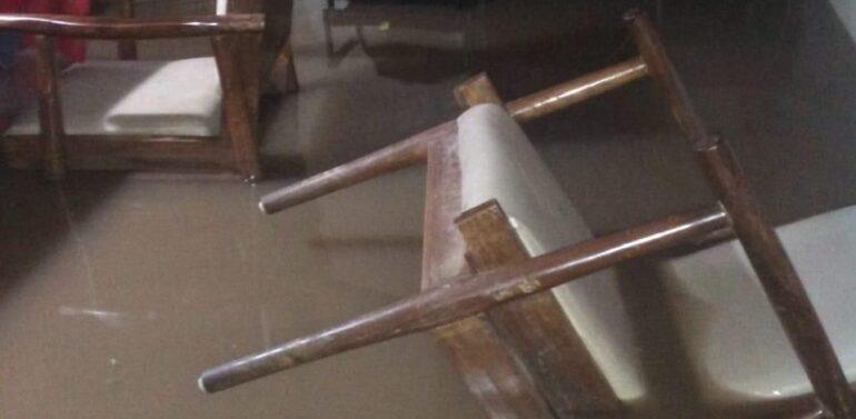 दाहोद में भारी बारिश से शहर के निचले इलाकों में जलभराव