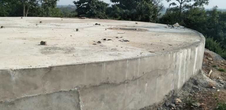 બલૈયા ગામે ટેન્ડરીંગ વગર જ પાંચ કરોડની પાણી પુરવઠા યોજનાનો ટાંકો (સંપ) બનાવી દેવાતાં આશ્ચર્ય,