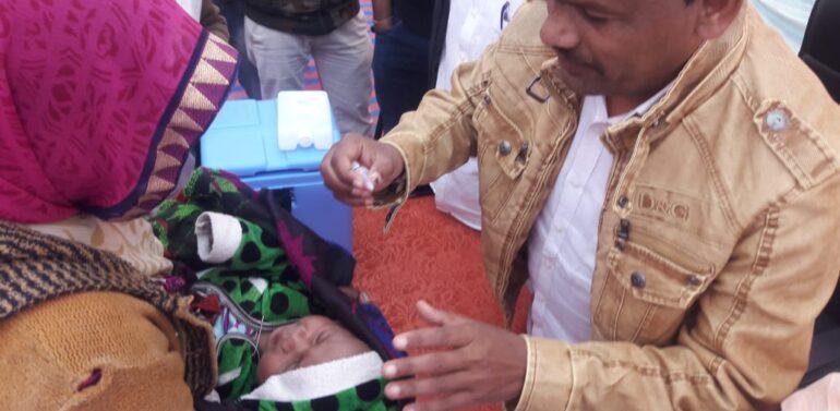 ફતેપુરા તાલુકાના પોલિયો કાર્યક્રમની કંથાગર થી શરૂઆત કરાઈ:જિલ્લામાં 35.17 હજાર બાળકોને પોલિયો પીવડાવવાનો લક્ષ્યાંક