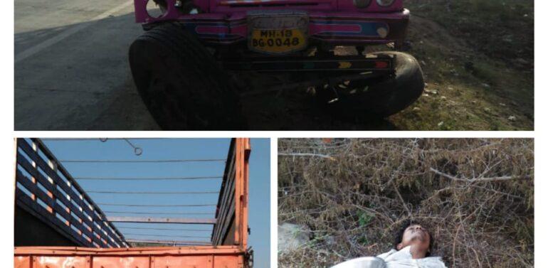 દાહોદના જાલત નજીક  ઇન્દોર -અમદાવાદ હાઇવે પર ટ્રક નદીના પુલ સાથે ધડાકાભેર અથડાઈ,ટ્રક સવાર ક્લીનરનું મોત,ચાલક ટ્રક મૂકી ફરાર:પોલિસ તપાસમાં જોતરાઈ