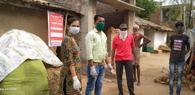 નેપાળથી પરત સંતરામપુર આવેલા ઇન્દ્રા ગામના ત્રણ પરિવારોને આરોગ્ય વિભાગ દ્વારા હોમ કોરોનટાઇનમાંમૂકવામાં આવ્યા