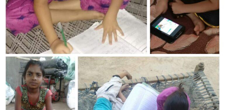 કોરોના સામે જંગ….ઘરે રહો, સુરક્ષિત રહો સાથે ગરબાડામાં ઓનલાઈન શિક્ષણકાર્ય