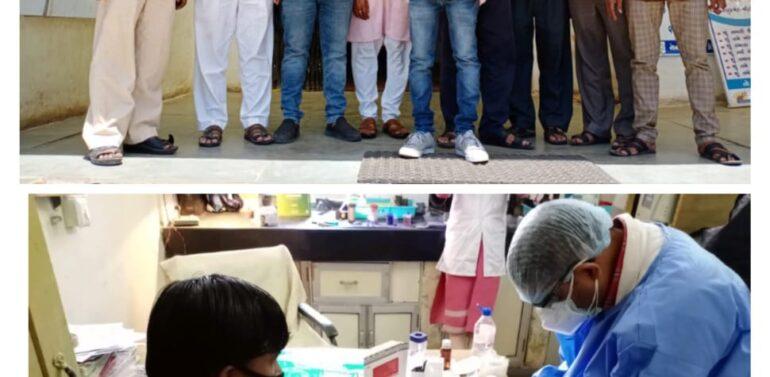 સીંગવડ:આરોગ્ય વિભાગ દ્વારા નગરના 8 વેપારીઓના રેપિડ સેમ્પલ લીધા:તમામ વેપારીઓના રિપોર્ટ નેગેટિવ આવતા હાશકારો