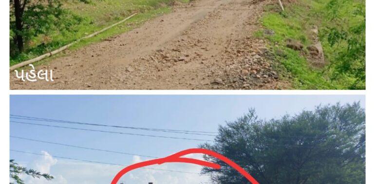 દે.બારીયાના ઉચવાણમાં રેત ખનનનો મોટા પ્રમાણમાં થતો વેપલો:ગ્રામ પંચાયત દ્વારા લગાવાયેલી એંગલો પણ ગાયબ:તંત્રના આંખ આડા કાનથી આશ્ચર્ય