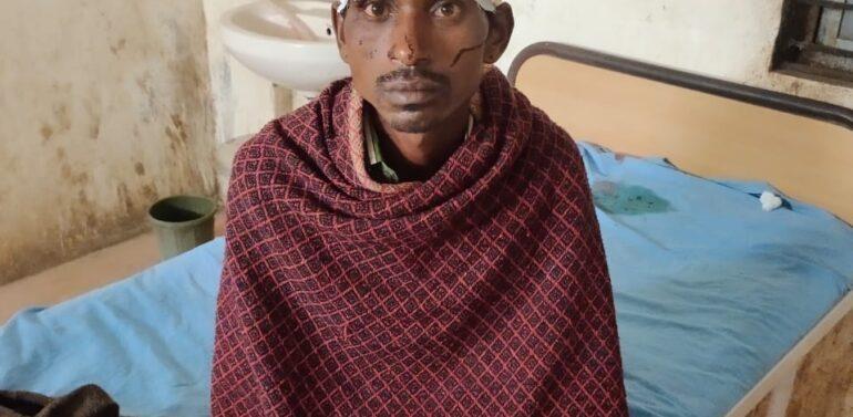 દે.બારીયા તાલુકાના રામા ગામે ખેતરમાં જઈ રહેલા આધેડ પર દીપડાએ હુમલો કરી લોહીલુહાણ કરતા પંથકમાં ફફડાટ ફેલાયો