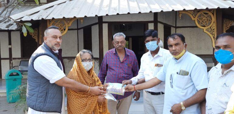 દેવગઢ બારિયા રાજવી પરિવાર દ્વારા શ્રી રામ જન્મભૂમિ મંદિર નિર્માણ તીર્થ ક્ષેત્ર માટે દાહોદ જિલ્લામાંથી પ્રથમ નીધિ સમર્પણ કરી શરૂવાત કરી