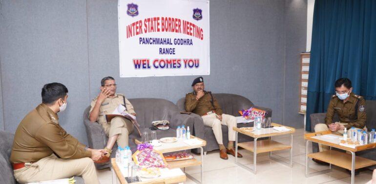 દાહોદમાં નાયબ પોલીસ મહાનિરીક્ષકની ઉપસ્થતિમાં  ચૂંટણીને ધ્યાને રાખી ઇન્ટર સ્ટેટ બોર્ડર પોલીસની બેઠક યોજાઈ