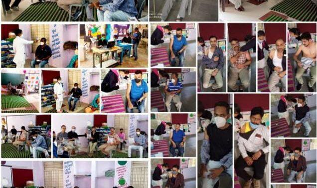 કોરોના સામે જંગ…ગરબાડા પંથકમાં કોવીડ 19 રસીકરણનો બીજા તબક્કાનો આરંભ:પંથકમાં કુલ 78 જેટલાં સરકારી કર્મચારીઓને રસીકરણ કરાયું