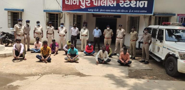 દાહોદ:ધાનપુરના ખજૂરીમાં પ્રેમી સાથે ભાગેલી પરણિતાને નિર્વસ્ત્ર કરી અત્યાચાર ગુજારનારા 19 લોકોને ધાનપુર પોલીસે ઝડપી જેલભેગા કર્યા