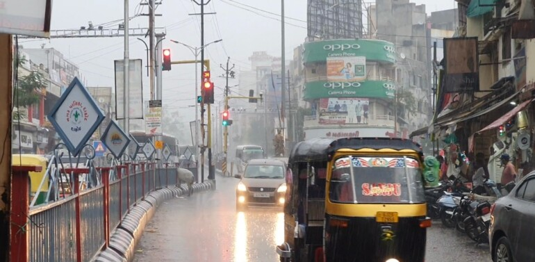દાહોદમાં મેઘરાજા મહેરબાન:વીતેલા 24 કલાકમાં 61 મી. મી વરસાદ વરસ્યો: ધરતીપુત્રો ખુશખુશાલ..